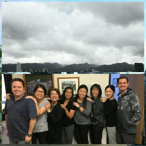 "Prime Care had a ""Grey Day."" James, Ella, Beth, Emma, Ashlyn, Cindy, Lynn and Sean got the memo to match the day outside...but not their good spirits!"
